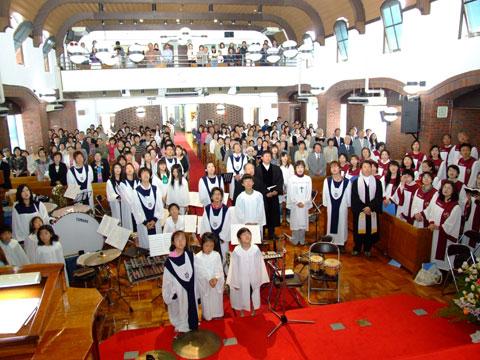 創立記念礼拝