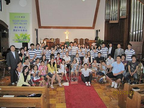 鷺梁津教会高校生訪問